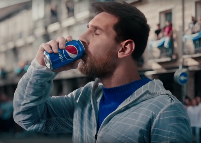 PEPSI - Paint World Blue